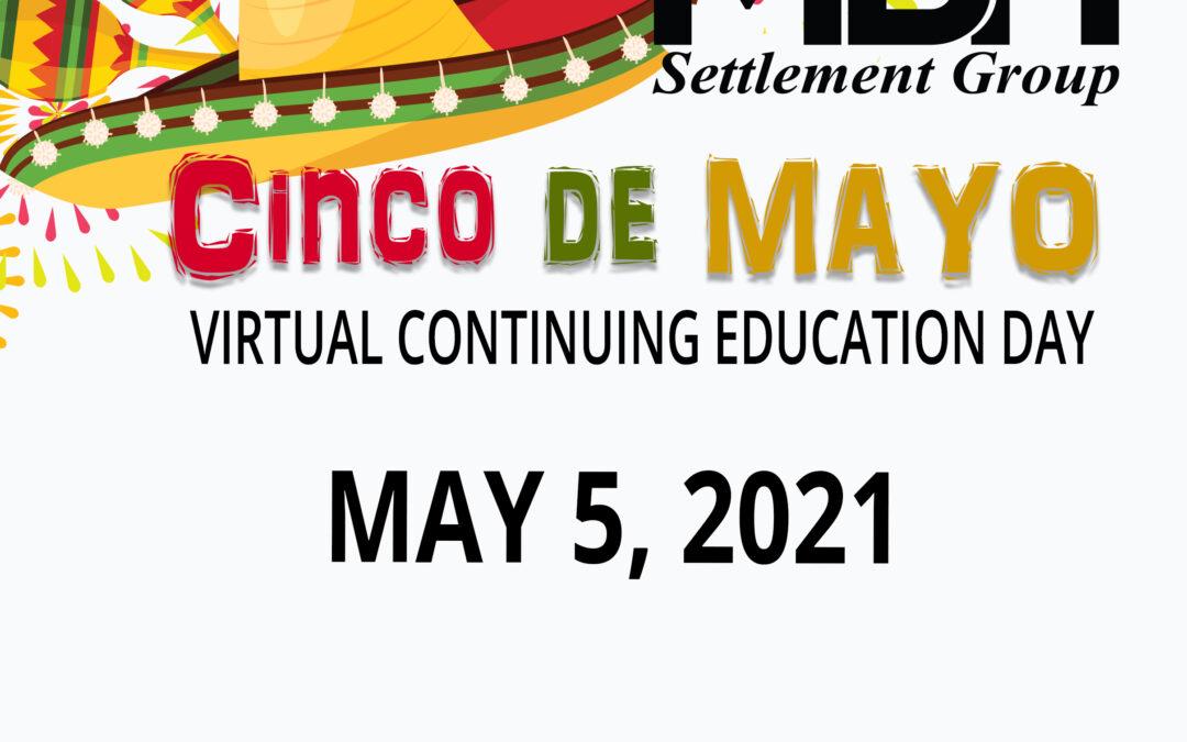 Cinco de Mayo MBH CE Event