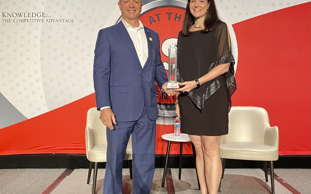 Westerlund Awarded Leadership Award At NS3